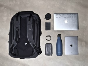 Minaal Carry-on packed up for the everyday office commute by Matt Gelgota