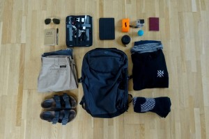Minaal Carry-on and Tokyo Gear Essentials