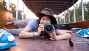Thu Tran Behind the Camera