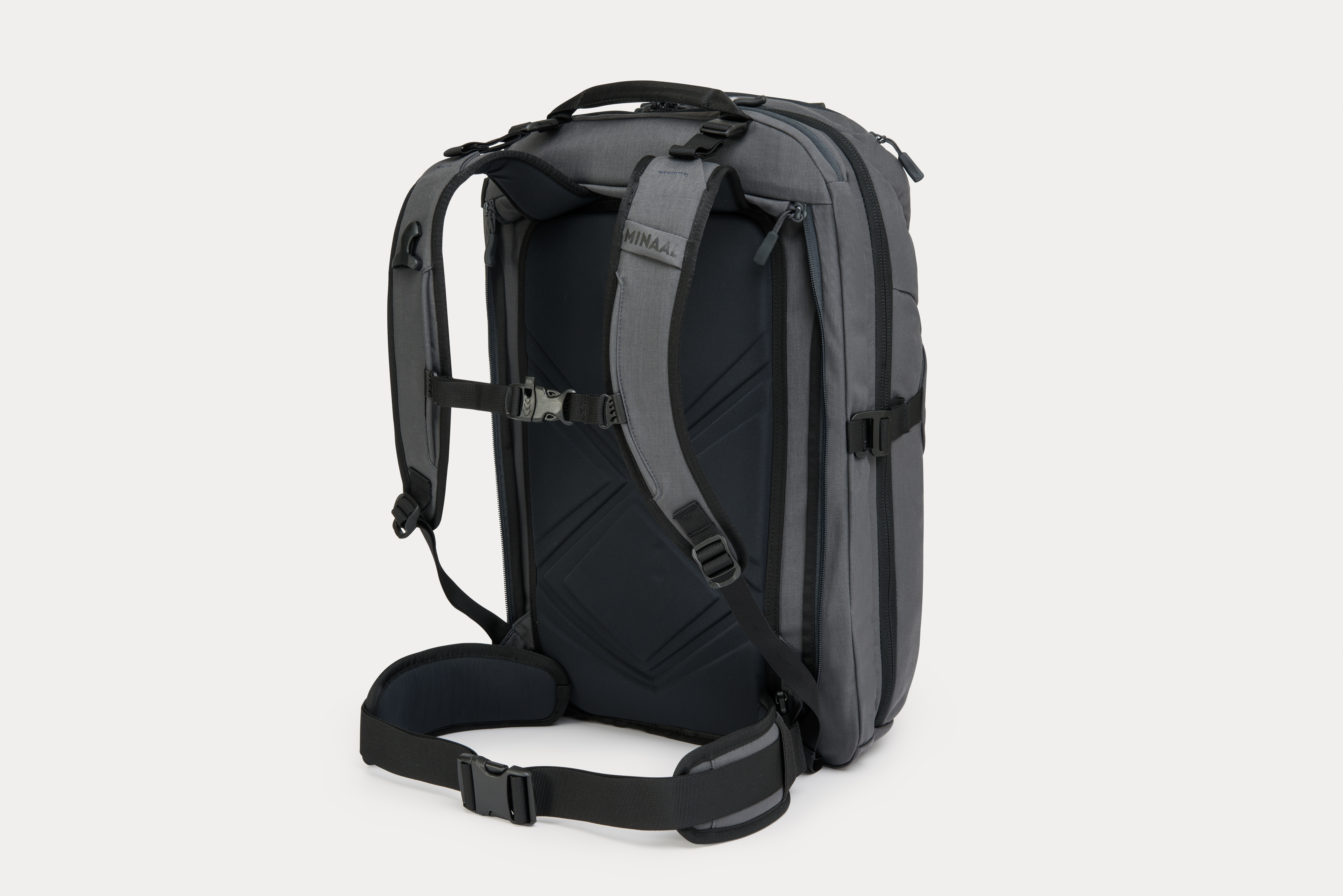 Minaal Carry-on 2.0 Backpack with Modular Hip Pads