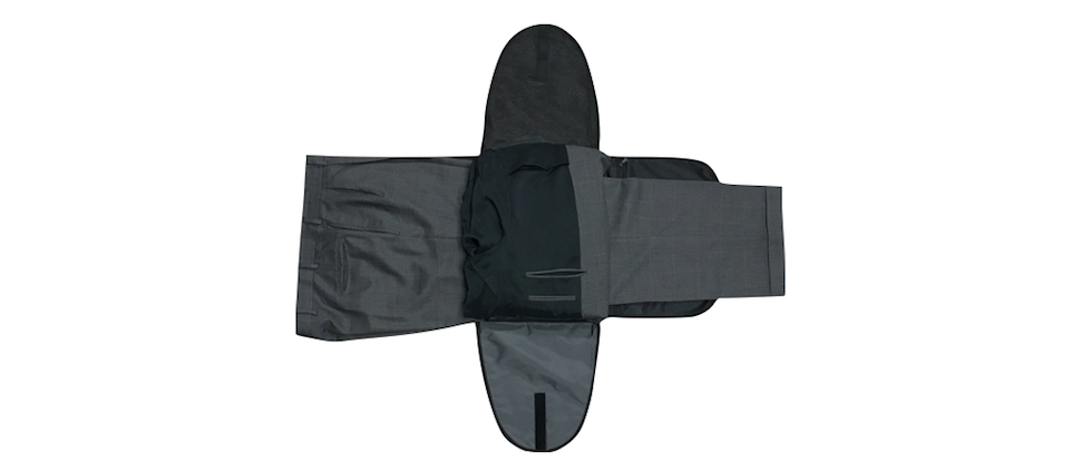 suit in a carry-on bag Step 9