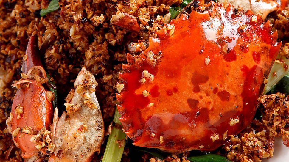 Chili crab stank
