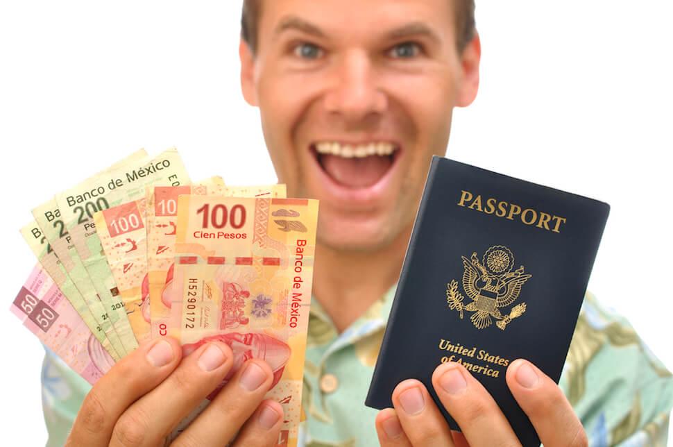 How to Keep Your Passport Safe – Hilarious Passport Guy Stock Photo