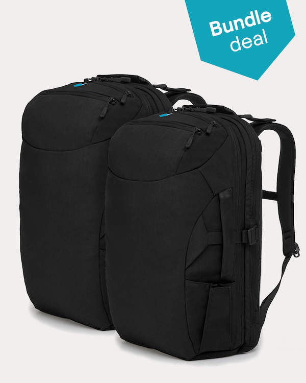 Minaal Partner Bundles - Carry-on 2.0 Partner Bundle - Aoraki Black
